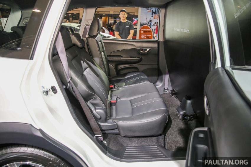 Honda BR-V – SUV tujuh-tempat duduk diprebiu untuk pasaran Malaysia buat pertama kali di MIECC Image #577109