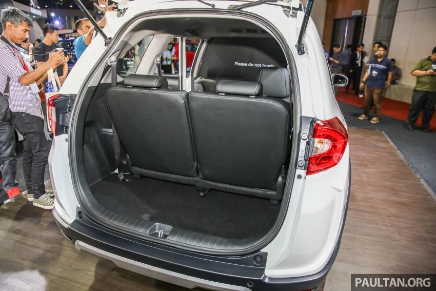 Honda BR-V – SUV tujuh-tempat duduk diprebiu untuk pasaran Malaysia buat pertama kali di MIECC Image #577102