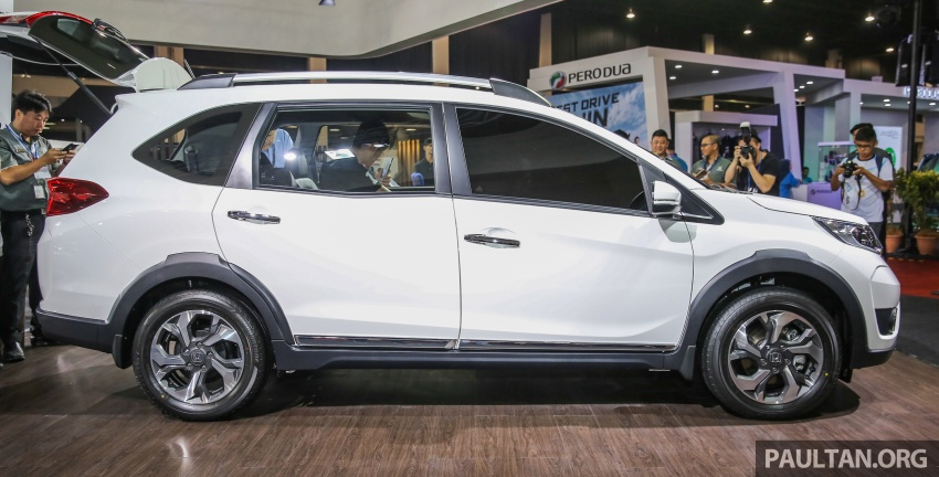 Honda BR-V – SUV tujuh-tempat duduk diprebiu untuk pasaran Malaysia buat pertama kali di MIECC Image #577086