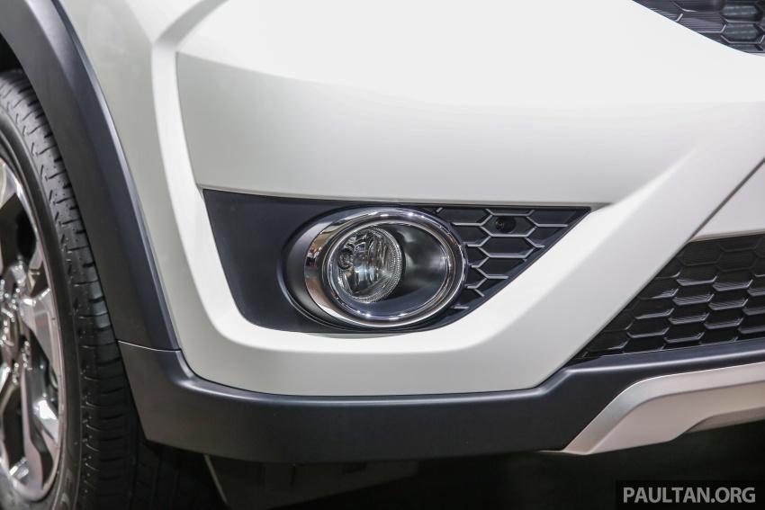 Honda BR-V – SUV tujuh-tempat duduk diprebiu untuk pasaran Malaysia buat pertama kali di MIECC Image #577088