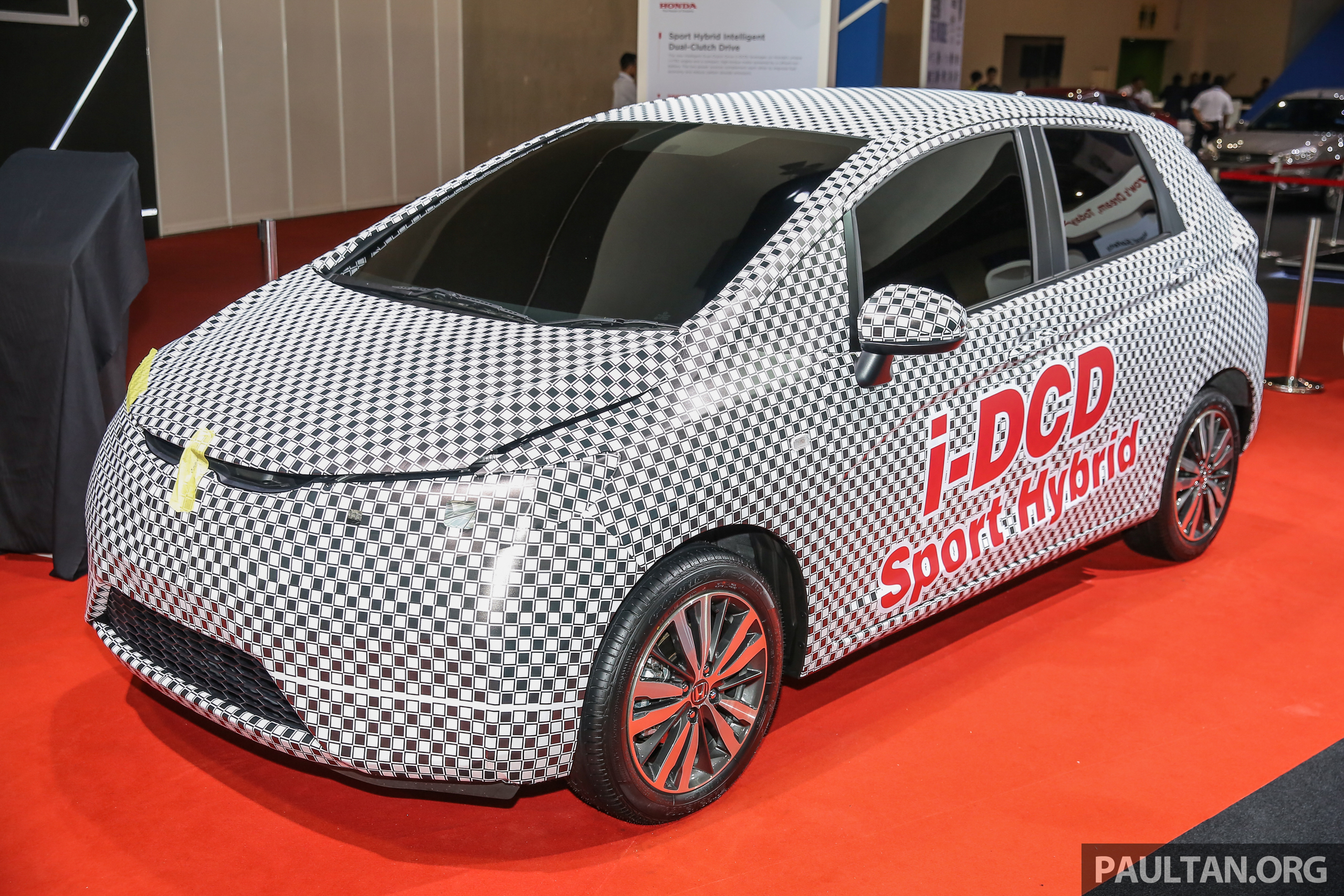honda jazz hybrid i dcd teased in malaysia full hybrid with dct ckd exports to asean possible. Black Bedroom Furniture Sets. Home Design Ideas
