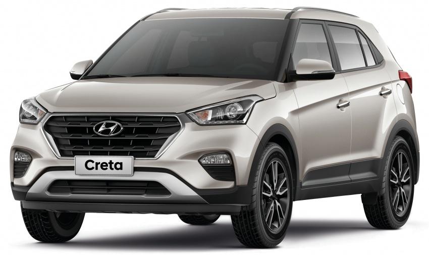 Hyundai Creta updated for Brazilian market, new looks Image #578908