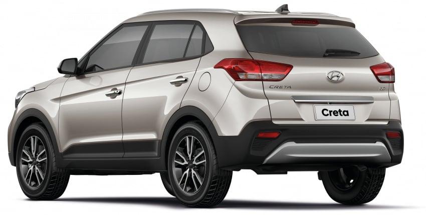 Hyundai Creta updated for Brazilian market, new looks Image #578909