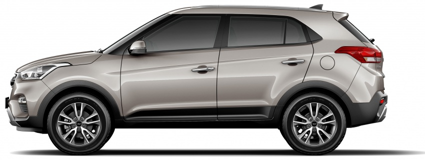 Hyundai Creta updated for Brazilian market, new looks Image #578911