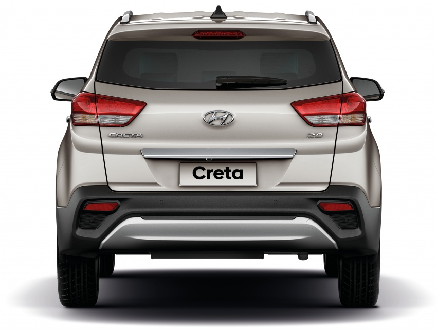 Hyundai Creta updated for Brazilian market, new looks Image #578912
