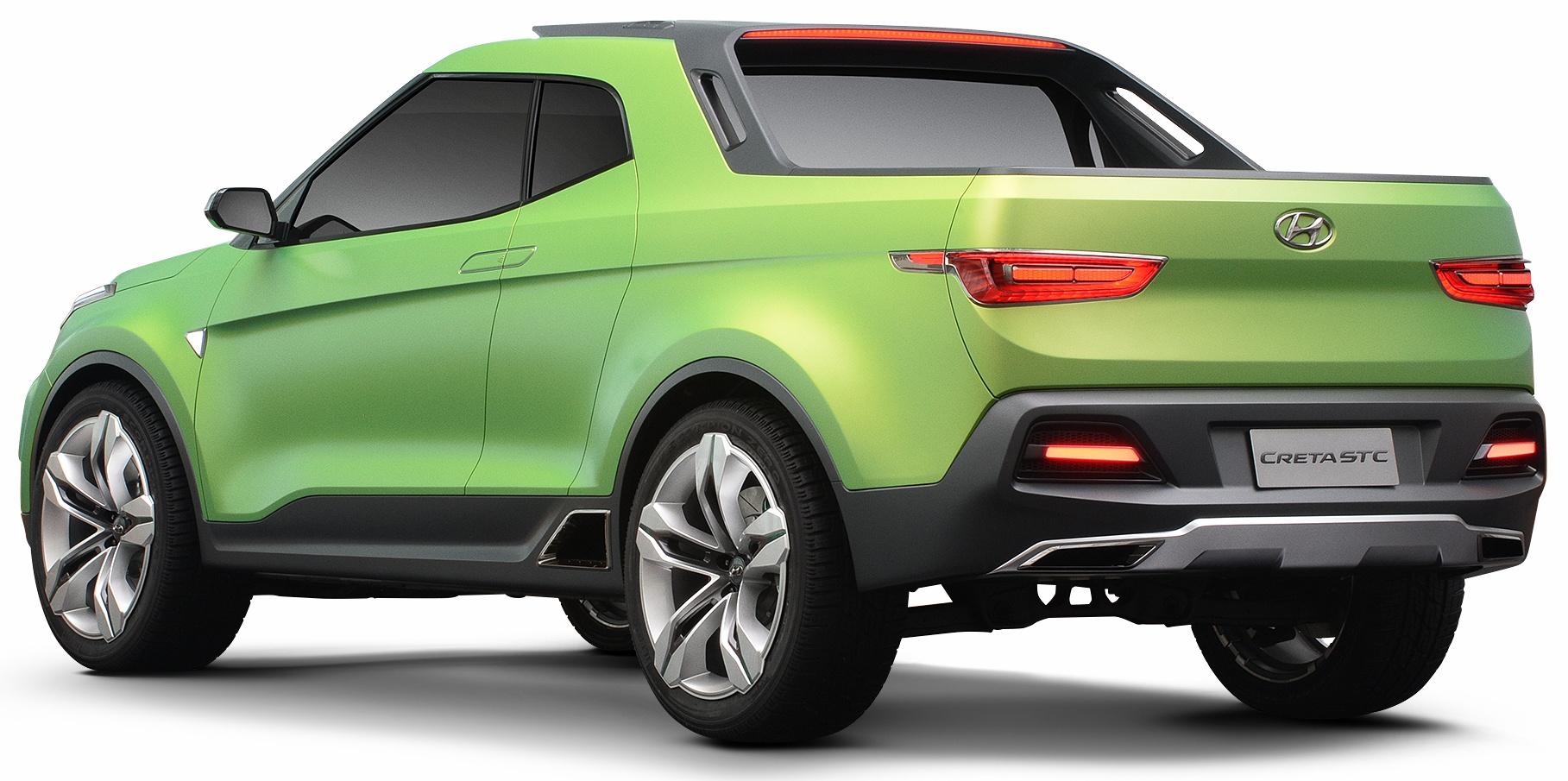 Hyundai Creta Stc Pick Up Concept Unveiled In Brazil Image