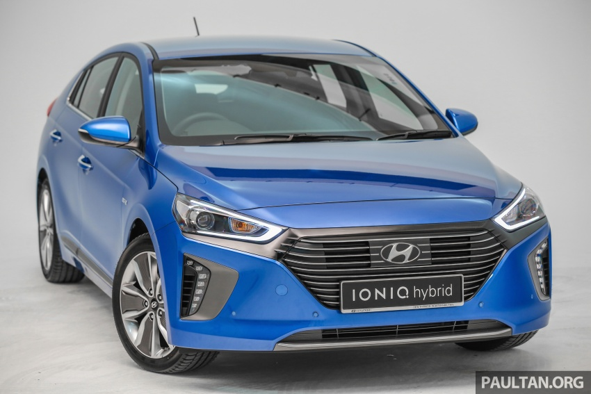 Hyundai Ioniq Hybrid in Malaysia: CKD, 7 airbags, from RM100k; RM111k with AEB and Smart Cruise Control Image #585331