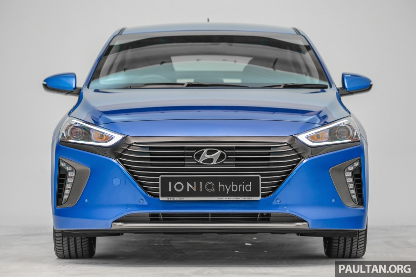 Hyundai Ioniq Hybrid in Malaysia: CKD, 7 airbags, from RM100k; RM111k with AEB and Smart Cruise Control Image #585341