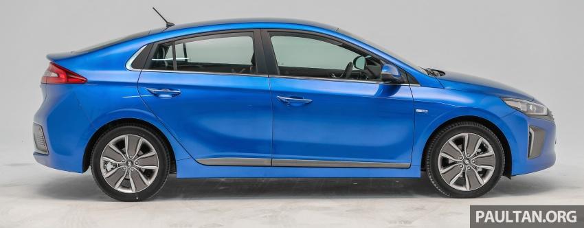 Hyundai Ioniq Hybrid dilancarkan; dua varian sebagai pilihan, pemasangan CKD – harga bermula RM100k Image #585638