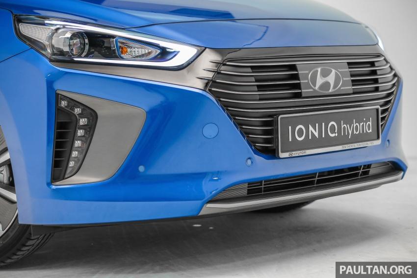 Hyundai Ioniq Hybrid dilancarkan; dua varian sebagai pilihan, pemasangan CKD – harga bermula RM100k Image #585641
