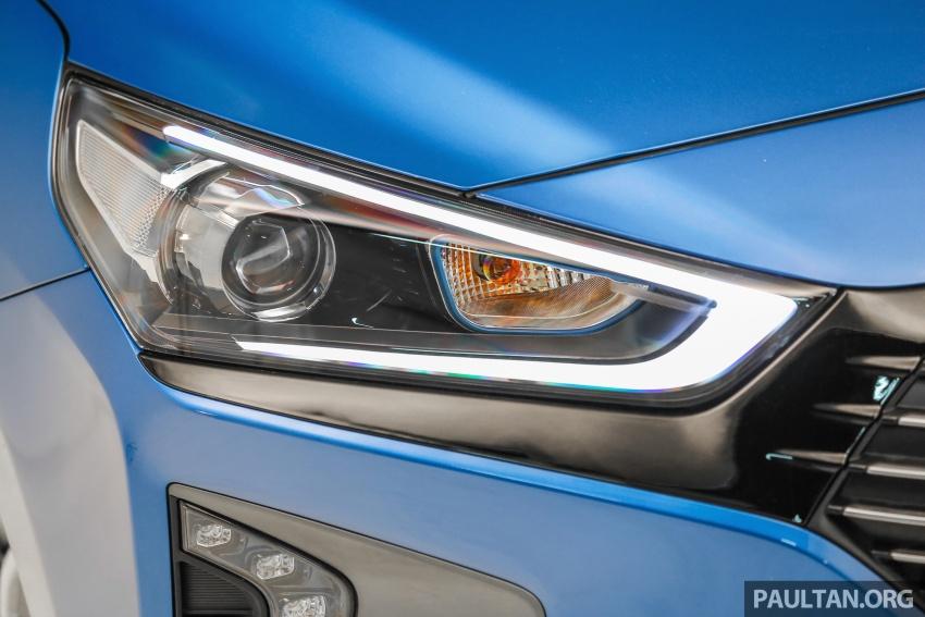 Hyundai Ioniq Hybrid dilancarkan; dua varian sebagai pilihan, pemasangan CKD – harga bermula RM100k Image #585643