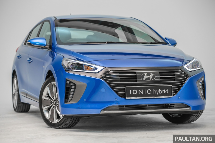 Hyundai Ioniq Hybrid in Malaysia: CKD, 7 airbags, from RM100k; RM111k with AEB and Smart Cruise Control Image #585332