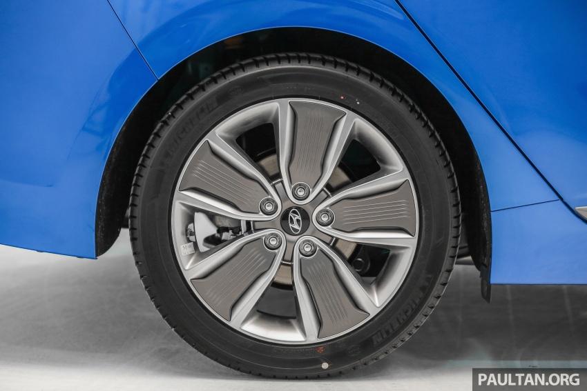 Hyundai Ioniq Hybrid dilancarkan; dua varian sebagai pilihan, pemasangan CKD – harga bermula RM100k Image #585654