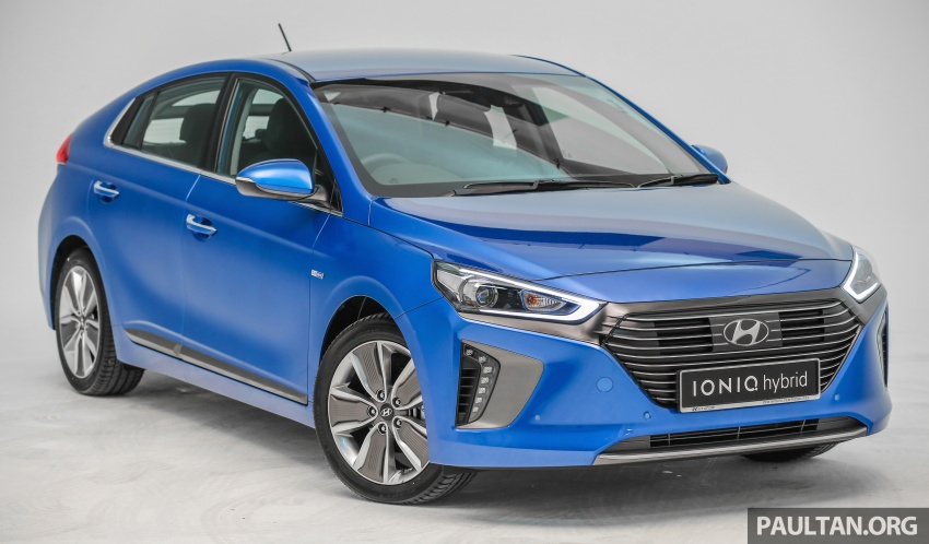 Hyundai Ioniq Hybrid in Malaysia: CKD, 7 airbags, from RM100k; RM111k with AEB and Smart Cruise Control Image #585333