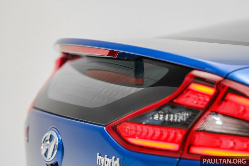 Hyundai Ioniq Hybrid dilancarkan; dua varian sebagai pilihan, pemasangan CKD – harga bermula RM100k Image #585660