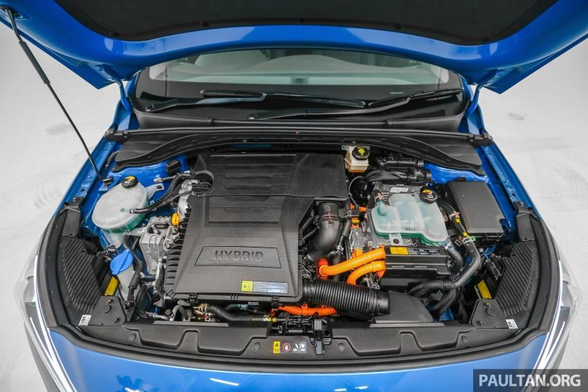 Hyundai Ioniq Hybrid dilancarkan; dua varian sebagai pilihan, pemasangan CKD – harga bermula RM100k Image #585661