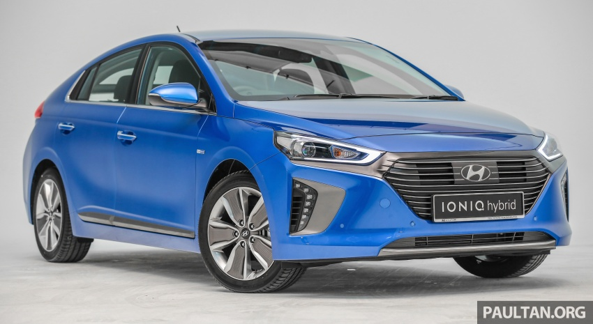 Hyundai Ioniq Hybrid in Malaysia: CKD, 7 airbags, from RM100k; RM111k with AEB and Smart Cruise Control Image #585334