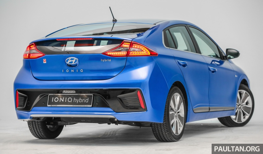 Hyundai Ioniq Hybrid in Malaysia: CKD, 7 airbags, from RM100k; RM111k with AEB and Smart Cruise Control Image #585339