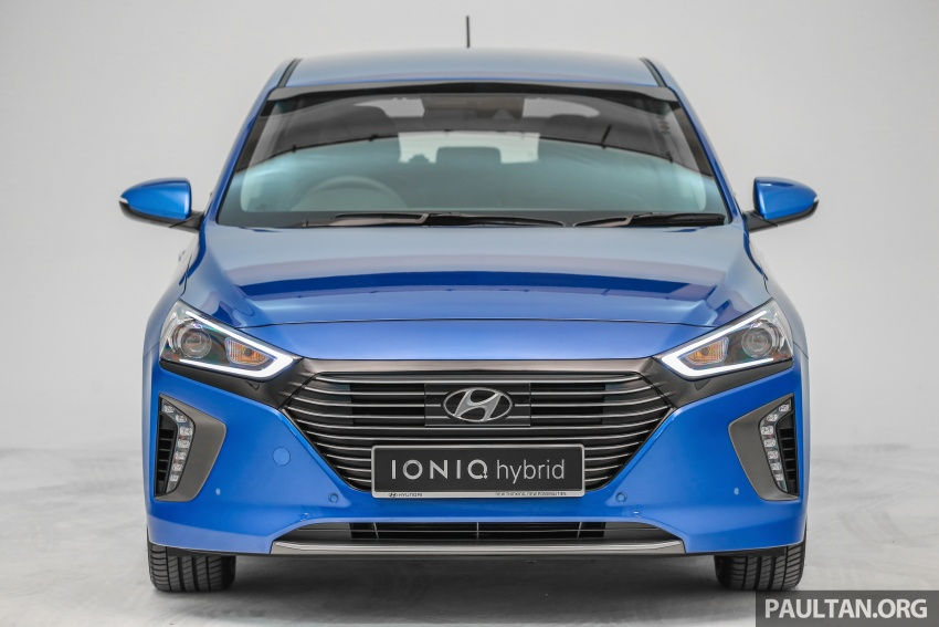 Hyundai Ioniq Hybrid in Malaysia: CKD, 7 airbags, from RM100k; RM111k with AEB and Smart Cruise Control Image #585340