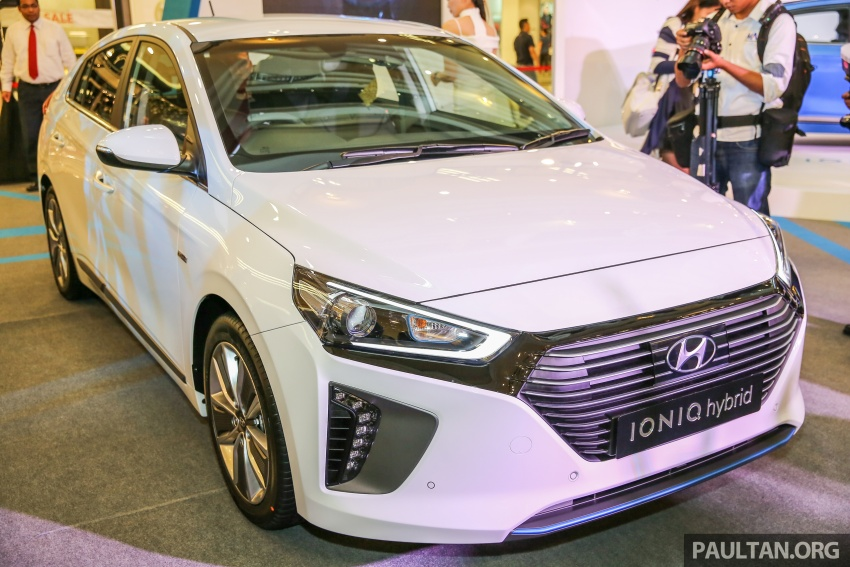 Hyundai Ioniq Hybrid in Malaysia: CKD, 7 airbags, from RM100k; RM111k with AEB and Smart Cruise Control Image #585859