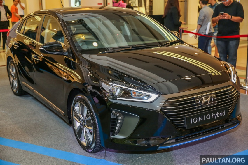 Hyundai Ioniq Hybrid in Malaysia: CKD, 7 airbags, from RM100k; RM111k with AEB and Smart Cruise Control Image #585870