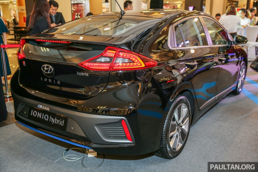 Hyundai Ioniq Hybrid in Malaysia: CKD, 7 airbags, from RM100k; RM111k with AEB and Smart Cruise Control Image #585871