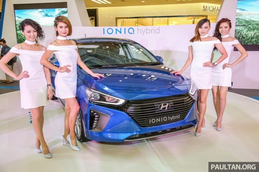 Hyundai Ioniq Hybrid in Malaysia: CKD, 7 airbags, from RM100k; RM111k with AEB and Smart Cruise Control Image #585875