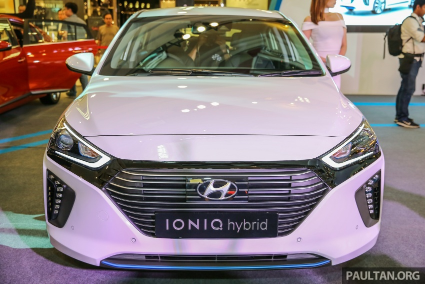 Hyundai Ioniq Hybrid in Malaysia: CKD, 7 airbags, from RM100k; RM111k with AEB and Smart Cruise Control Image #585861