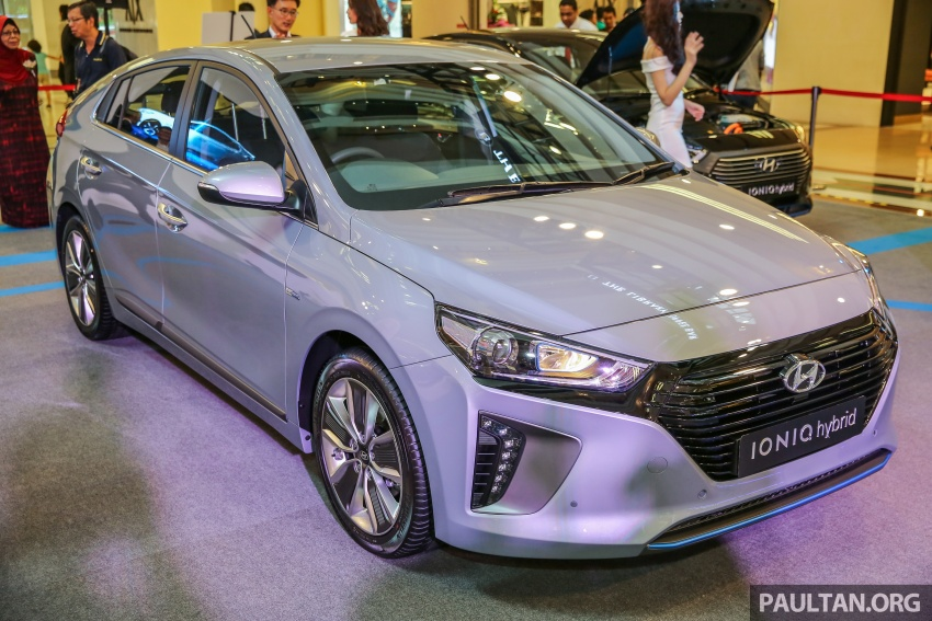 Hyundai Ioniq Hybrid in Malaysia: CKD, 7 airbags, from RM100k; RM111k with AEB and Smart Cruise Control Image #585817