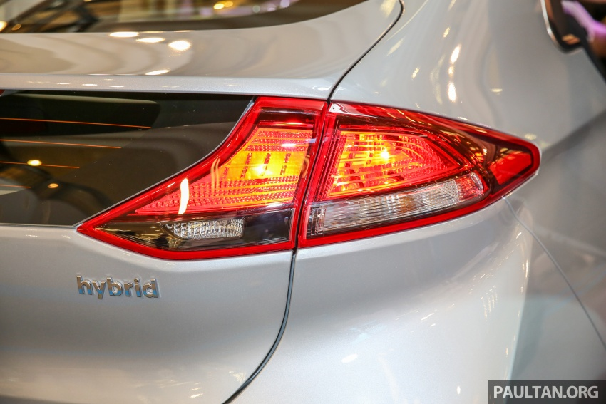 Hyundai Ioniq Hybrid dilancarkan; dua varian sebagai pilihan, pemasangan CKD – harga bermula RM100k Image #585903