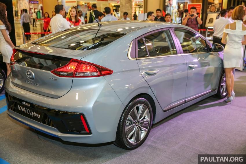 Hyundai Ioniq Hybrid dilancarkan; dua varian sebagai pilihan, pemasangan CKD – harga bermula RM100k Image #585890