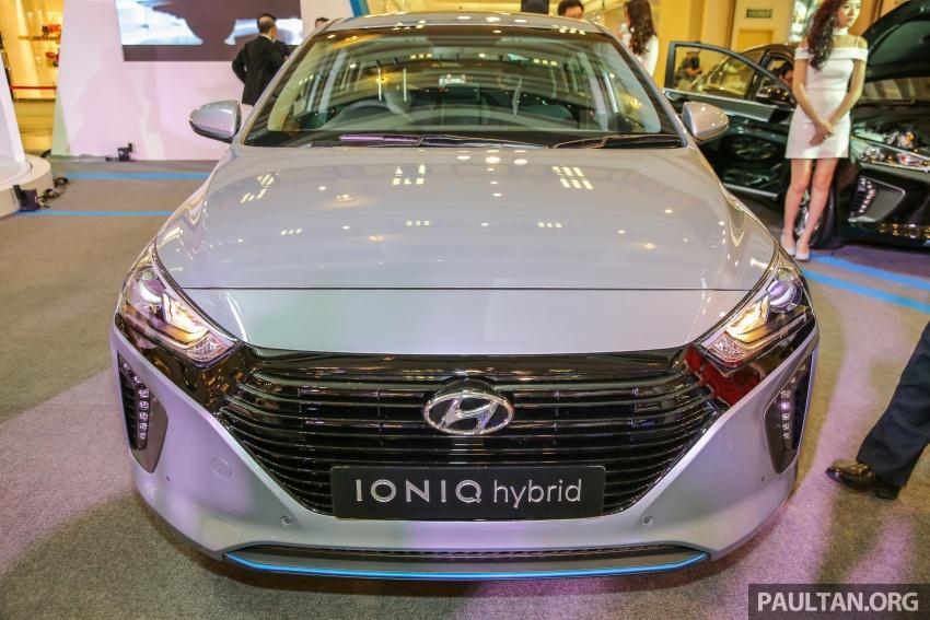 Hyundai Ioniq Hybrid dilancarkan; dua varian sebagai pilihan, pemasangan CKD – harga bermula RM100k Image #585892