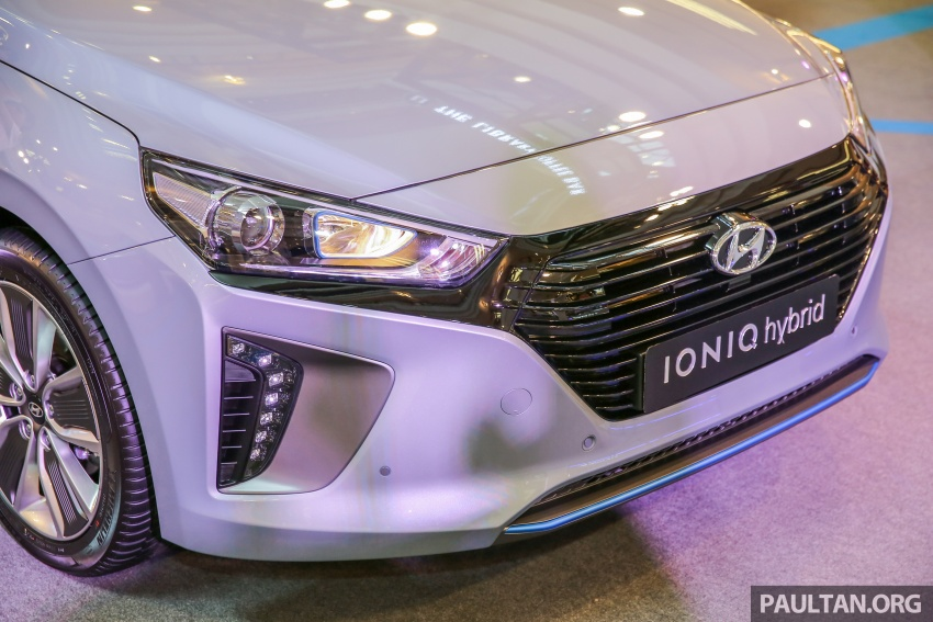 Hyundai Ioniq Hybrid in Malaysia: CKD, 7 airbags, from RM100k; RM111k with AEB and Smart Cruise Control Image #585822