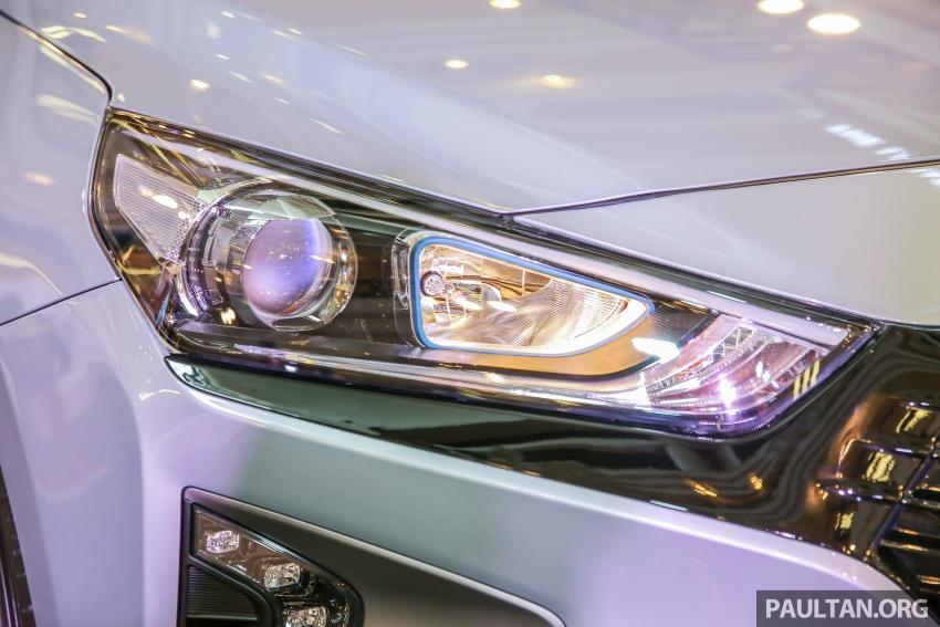 Hyundai Ioniq Hybrid dilancarkan; dua varian sebagai pilihan, pemasangan CKD – harga bermula RM100k Image #585896