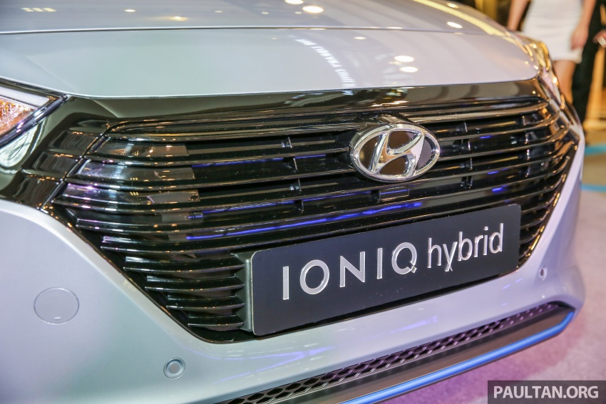 Hyundai Ioniq Hybrid in Malaysia: CKD, 7 airbags, from RM100k; RM111k with AEB and Smart Cruise Control Image #585825