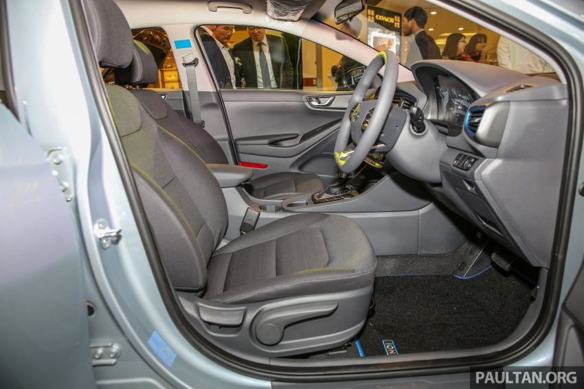 Hyundai Ioniq Hybrid in Malaysia: CKD, 7 airbags, from RM100k; RM111k with AEB and Smart Cruise Control Image #585850