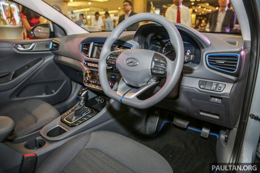 Hyundai Ioniq Hybrid dilancarkan; dua varian sebagai pilihan, pemasangan CKD – harga bermula RM100k Image #585906