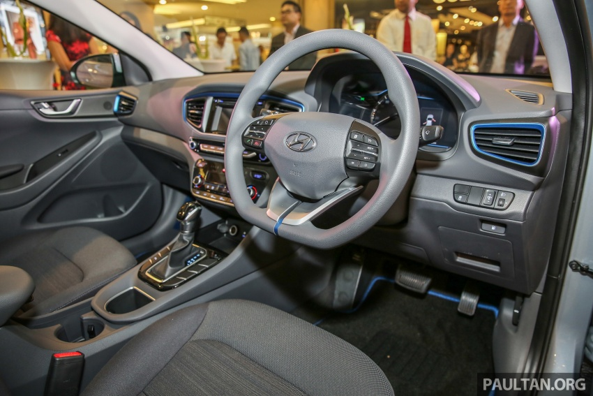 Hyundai Ioniq Hybrid in Malaysia: CKD, 7 airbags, from RM100k; RM111k with AEB and Smart Cruise Control Image #585834