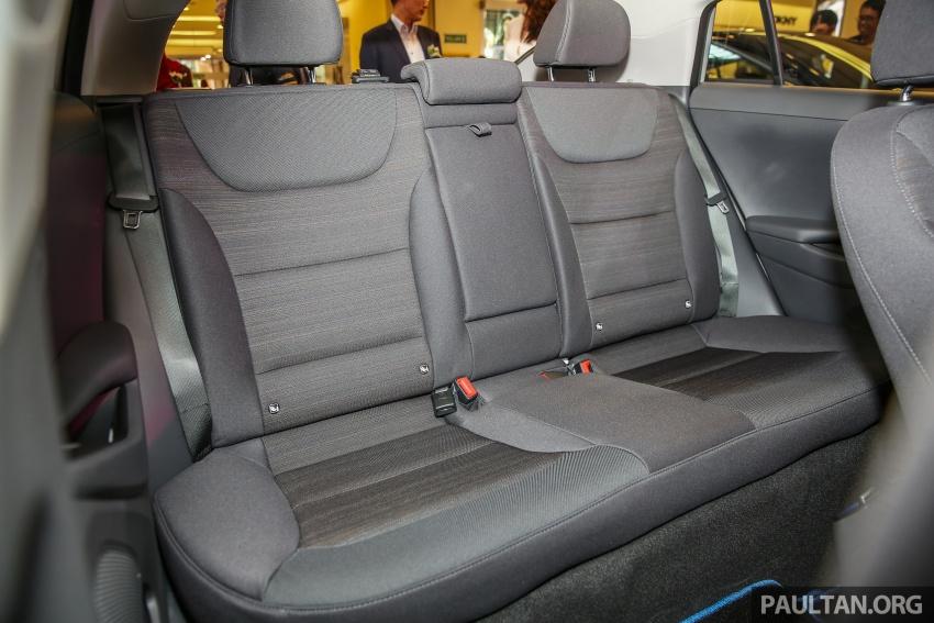 Hyundai Ioniq Hybrid dilancarkan; dua varian sebagai pilihan, pemasangan CKD – harga bermula RM100k Image #585937