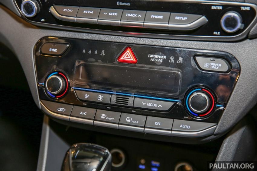Hyundai Ioniq Hybrid dilancarkan; dua varian sebagai pilihan, pemasangan CKD – harga bermula RM100k Image #585911