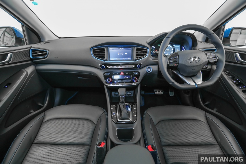 Hyundai Ioniq Hybrid in Malaysia: CKD, 7 airbags, from RM100k; RM111k with AEB and Smart Cruise Control Image #585396