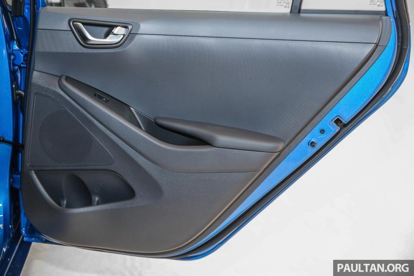 Hyundai Ioniq Hybrid dilancarkan; dua varian sebagai pilihan, pemasangan CKD – harga bermula RM100k Image #585685