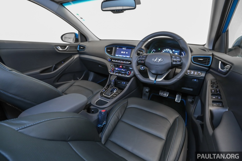 Hyundai Ioniq Hybrid in Malaysia: CKD, 7 airbags, from RM100k; RM111k with AEB and Smart Cruise Control Image #585445