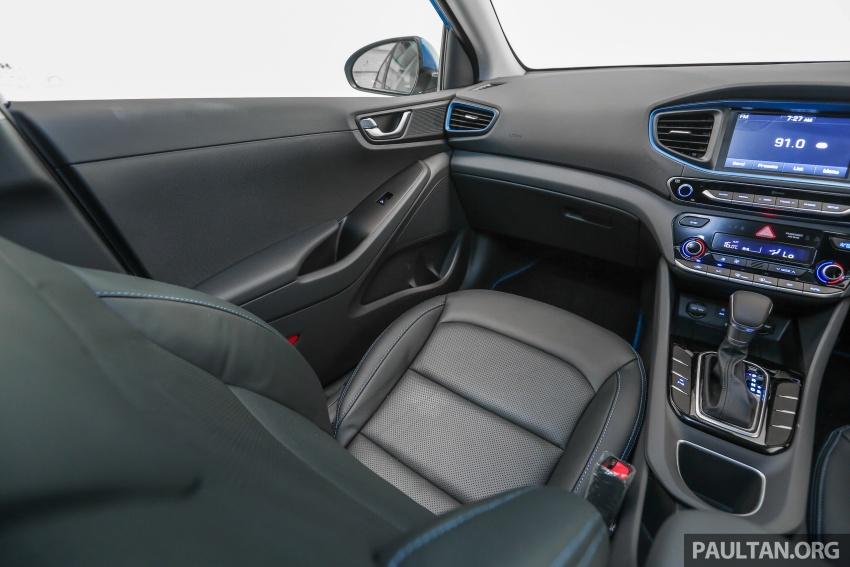 Hyundai Ioniq Hybrid dilancarkan; dua varian sebagai pilihan, pemasangan CKD – harga bermula RM100k Image #585689