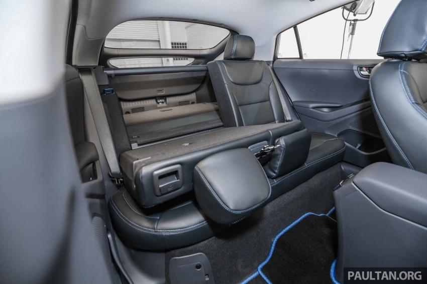 Hyundai Ioniq Hybrid dilancarkan; dua varian sebagai pilihan, pemasangan CKD – harga bermula RM100k Image #585694