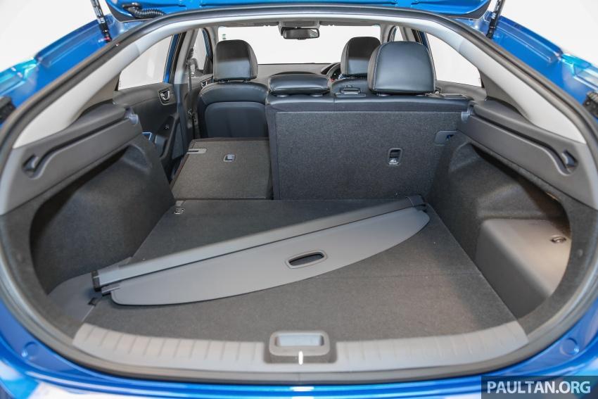 Hyundai Ioniq Hybrid dilancarkan; dua varian sebagai pilihan, pemasangan CKD – harga bermula RM100k Image #585697