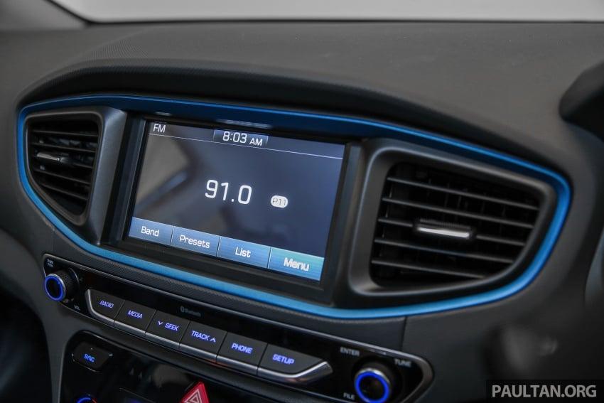 Hyundai Ioniq Hybrid dilancarkan; dua varian sebagai pilihan, pemasangan CKD – harga bermula RM100k Image #585669