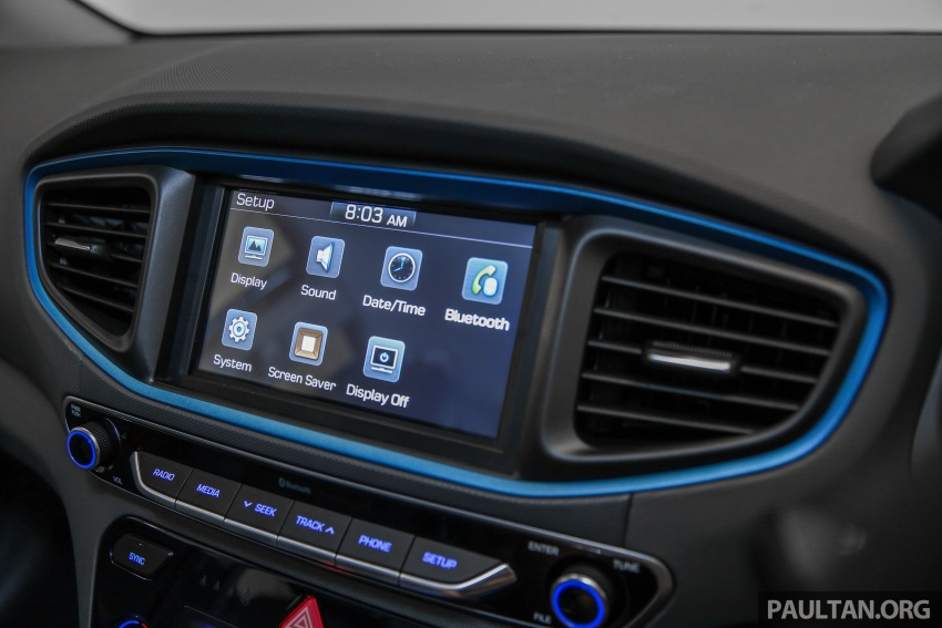 Hyundai Ioniq Hybrid in Malaysia: CKD, 7 airbags, from RM100k; RM111k with AEB and Smart Cruise Control Image #585410