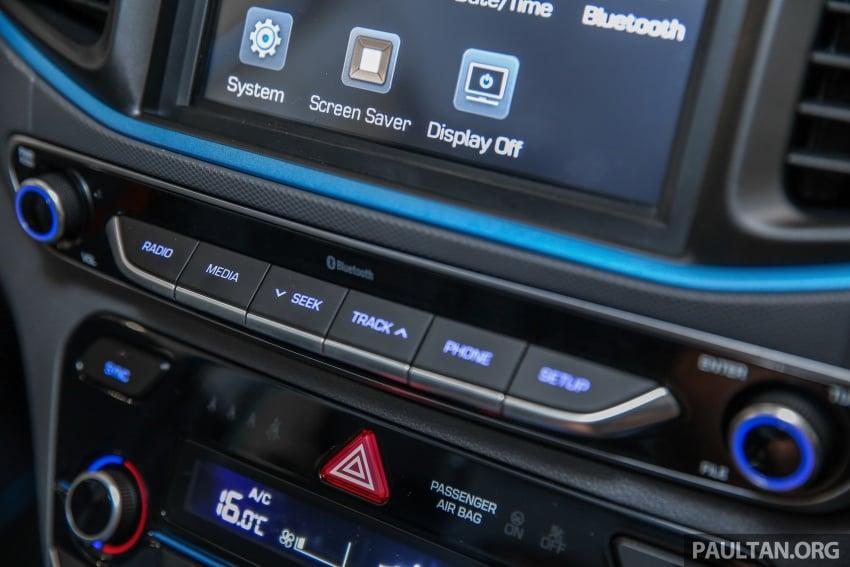 Hyundai Ioniq Hybrid dilancarkan; dua varian sebagai pilihan, pemasangan CKD – harga bermula RM100k Image #585671