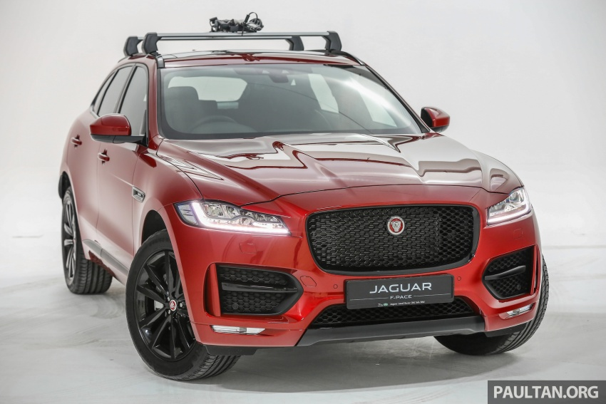Jaguar F-Pace launched – 340 PS 3.0 V6, from RM599k Image #585988